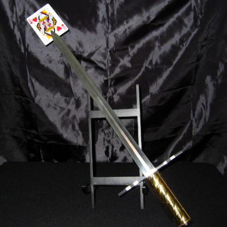Portable and Affordable Card Sword by Jay Leslie
