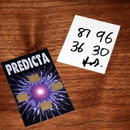 Predicta (with Wonder Unit) by Gilbert Raimond