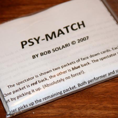 Psy-Match by Bob Solari Magic