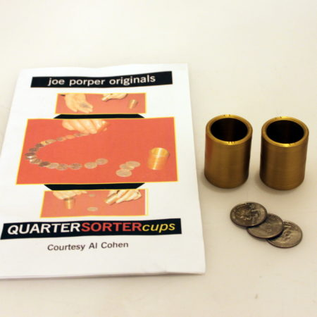 Quarter Sorter Cups by Joe Porper