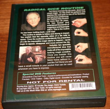 Radical Dice DVD (with Dice) by Sol Stone