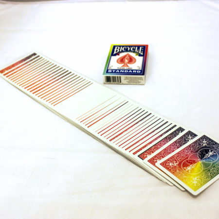 Rainbow Back Bicycle Deck by Vincenzo Di Fatta