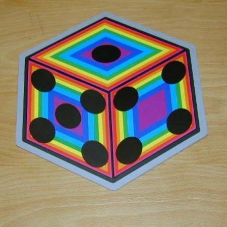Rainbow Dice by Ton Onosaka