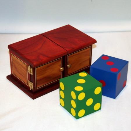 Rainbow Die Box by Mel Babcock