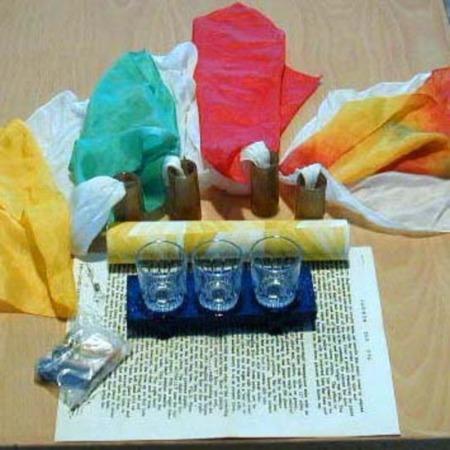 Rainbow Silk Dye by Jim Rainho/Simplex Magic