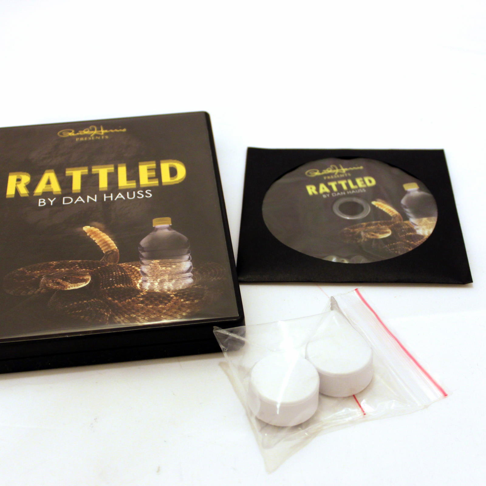 Rattled (DVD + Gimmick) by Dan Hauss