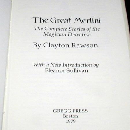 Great Merlini, The by Clayton Rawson