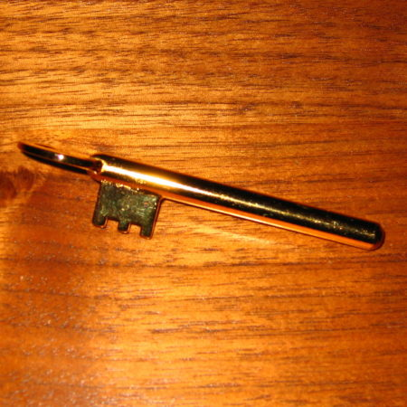 R.B. Golden Key by Tony Curtis