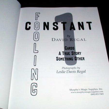 Constant Fooling: Vol. 1 by David Regal