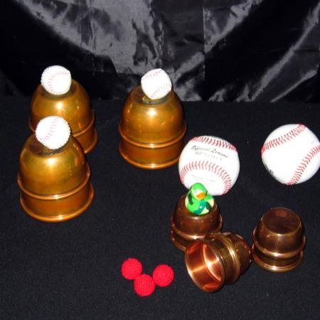 Riser Mini Cups and Balls by Jim Riser