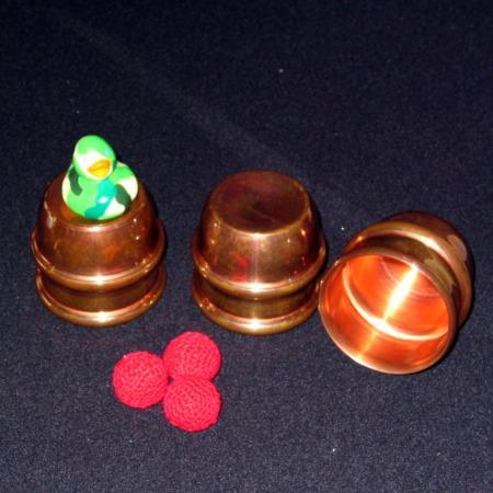 Riser Mini Cups and Balls by Jim Riser