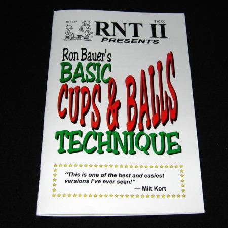 Bauer -Basic Cups and Balls Technique by Ron Bauer