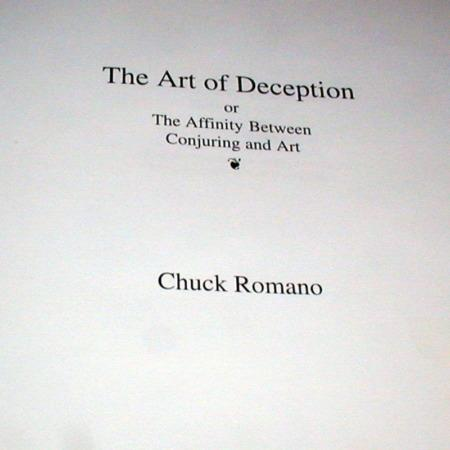 Art of Deception, The by Chuck Romano