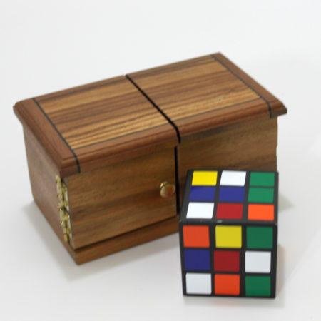 Rubik's Puzzle Solving Box by Mel Babcock