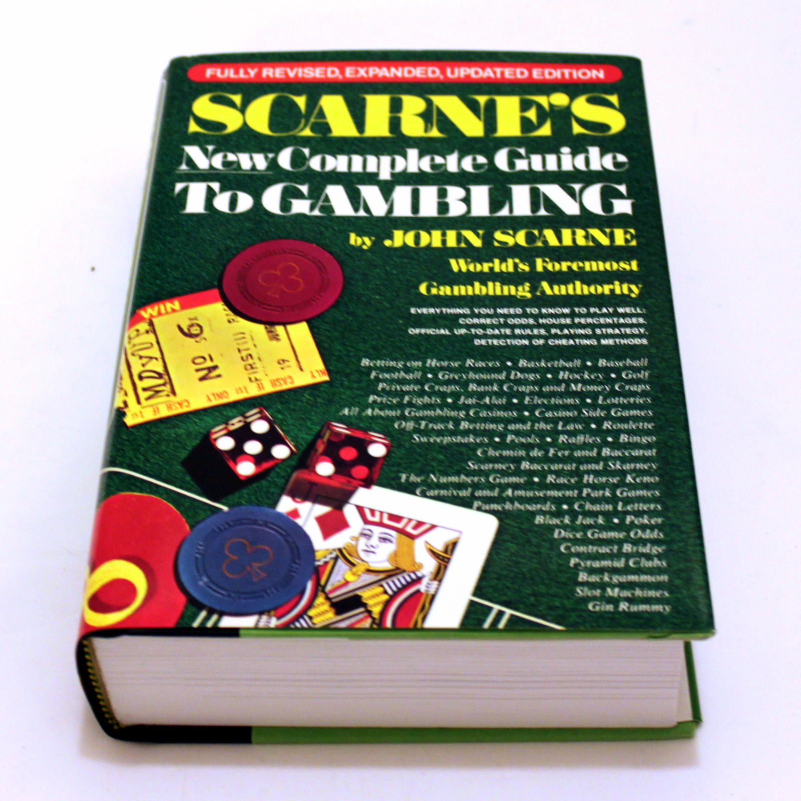 Scarne's New Complete Guide To Gambling by John Scarne
