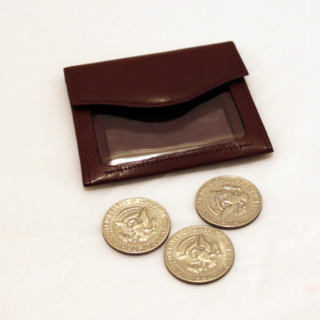 Japanese Coin Purse by Howard Schwarzman