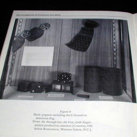 Scrapbook of Prof. Gus Rich by Gary Hunt