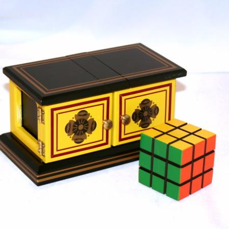 See Thru Rubik's Cube Box (Small) by Mel Babcock