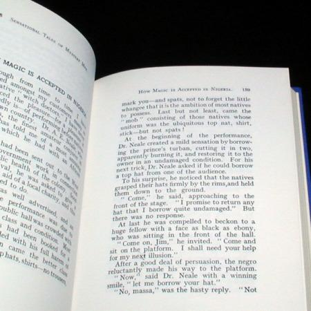 Sensational Tales of Mystery Men by Will Goldston