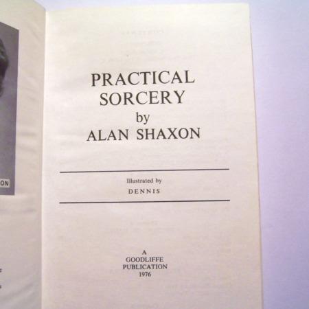 Practical Sorcery by Alan Shaxon