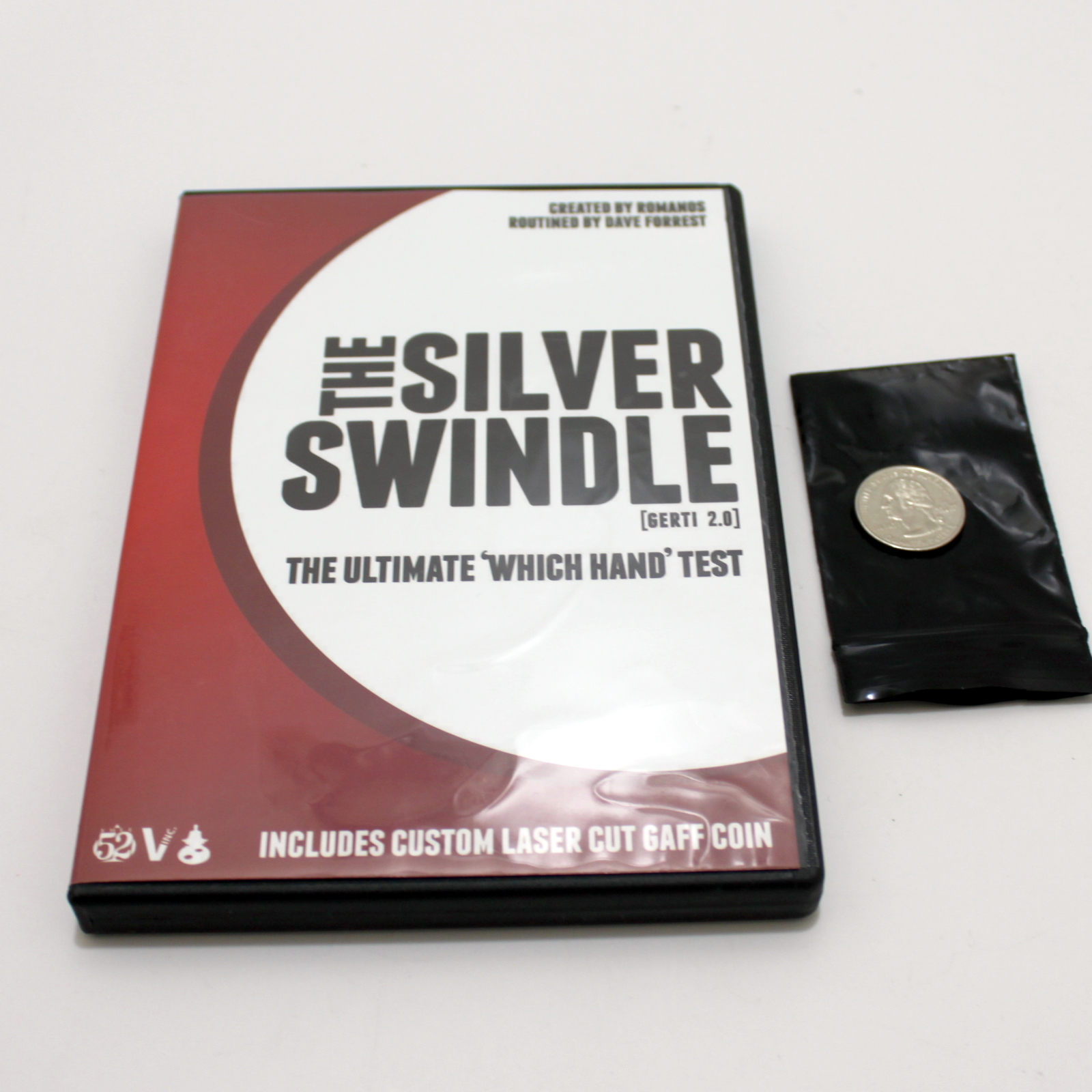 Silver Swindle (US Quarter) by Dave Forrest, Romanos