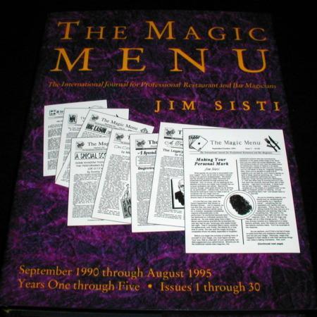 Magic Menu, The: Vols. 1-30 by Jim Sisti