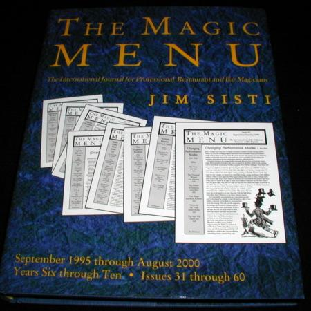 Magic Menu, The: Vols. 31-60 by Jim Sisti