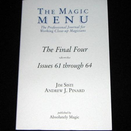 Magic Menu, The: Vols: 61-64 by Jim Sisti, Andrew J. Pinard