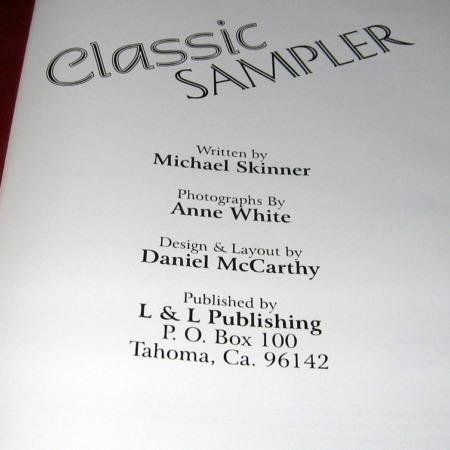 Classic Sampler by Michael Skinner