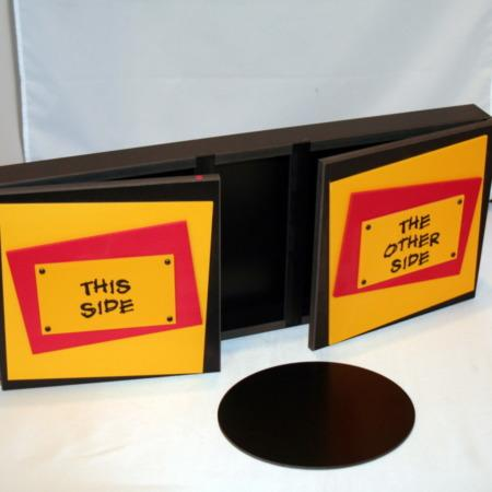 Sliding Disc Box by Yellowshark Design