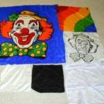 Smiley the Mis-Made Clown by P&A Silks