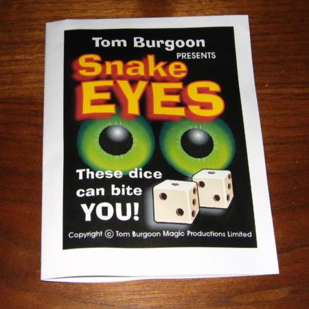 Snake Eyes by Tom Burgoon