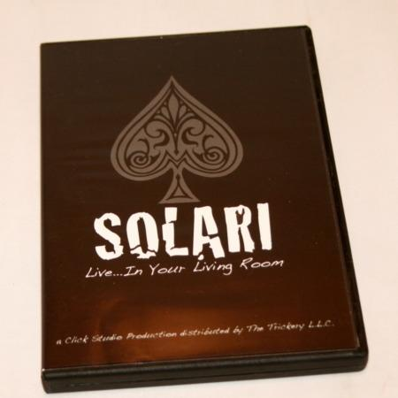 Solari Live in Your Living Room by Bob Solari Magic