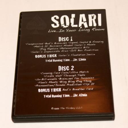 Solari Live in Your Living Room by Bob Solari Magic