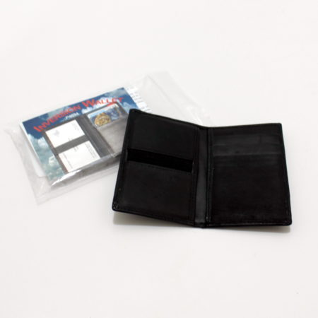 Inversion Wallet - Leather by Bob Solari Magic