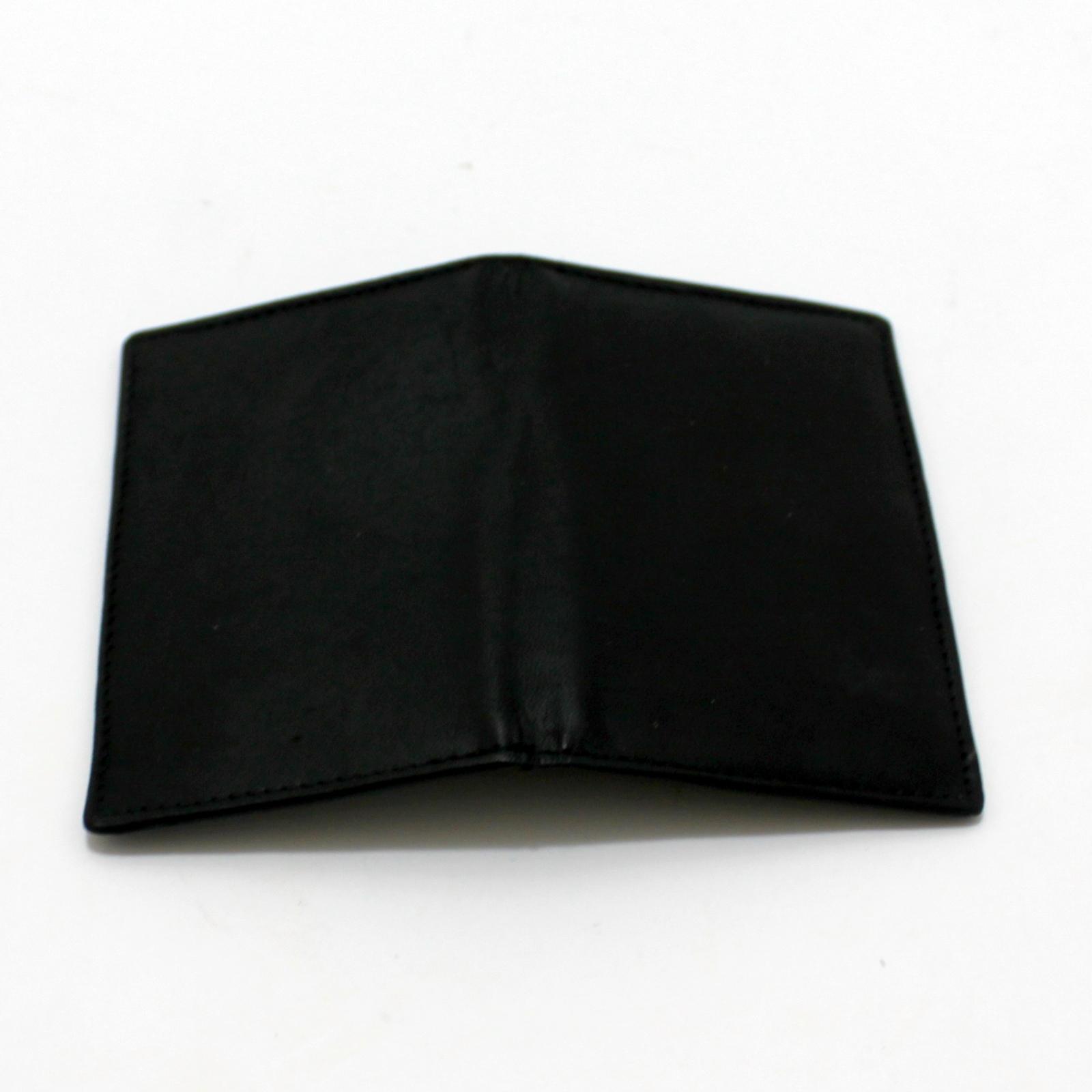 Inversion Wallet - Leather by Bob Solari Magic