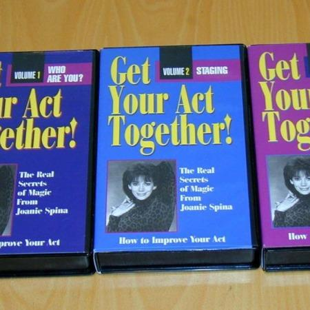 Get Your Act Together (3 volumes) by Joanie Spina
