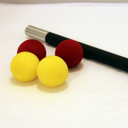 Sponge Ball Wand by Wolf's Magic