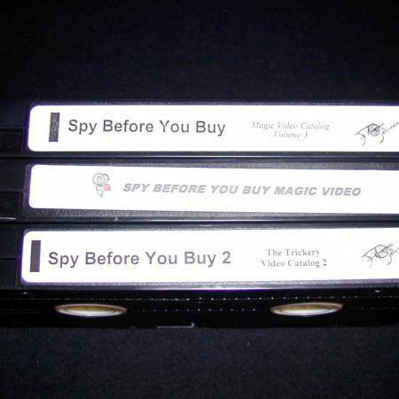 Spy Before You Buy  No. 1, No. 2, No. 3 by Trickery