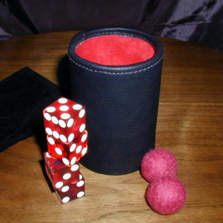 StackoMagic Dice Cups by Frank Starsinic