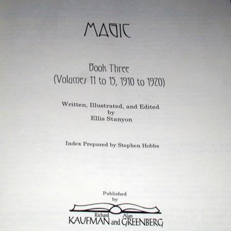 Magic - Vols. 1-15 by Ellis Stanyon
