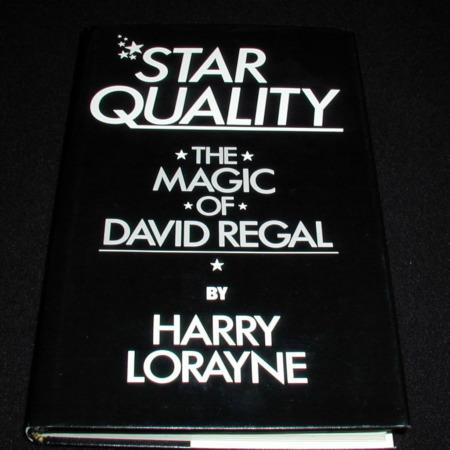 Star Quality - The Magic of David Regal by Harry Lorayne