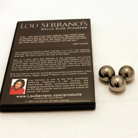Steel Ball Routine (Deluxe) by Lou Serrano