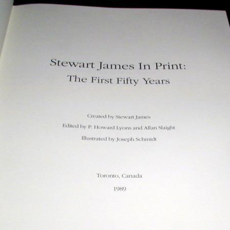Stewart James In Print - First Edition by Stewart James