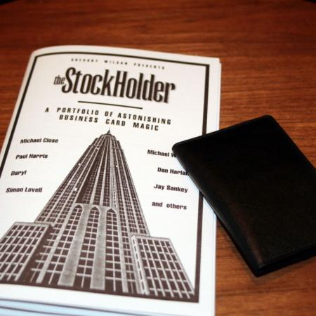 Review by Andy Martin for Stockholder by Gregory Wilson