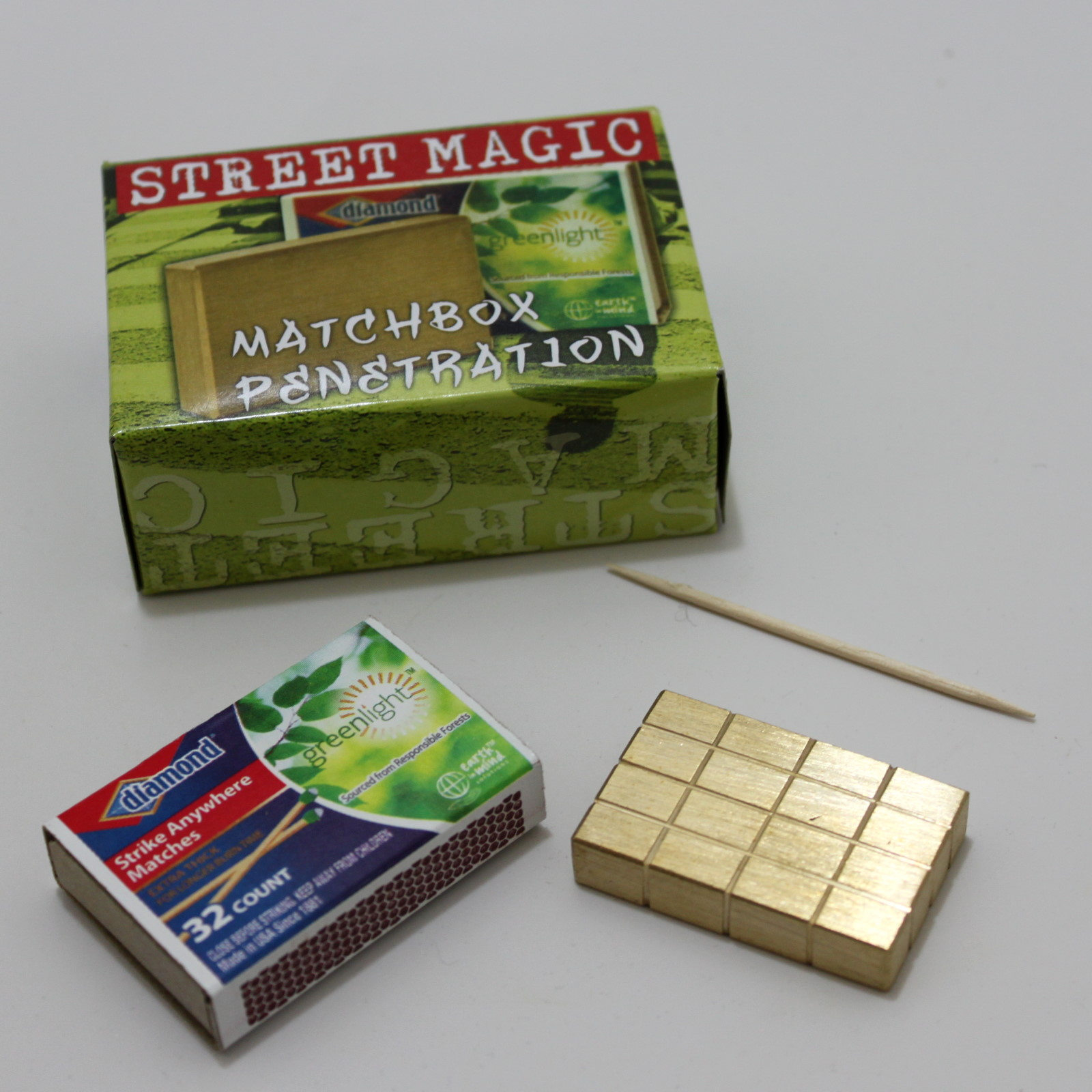Matchbox Penetration by Mak Magic