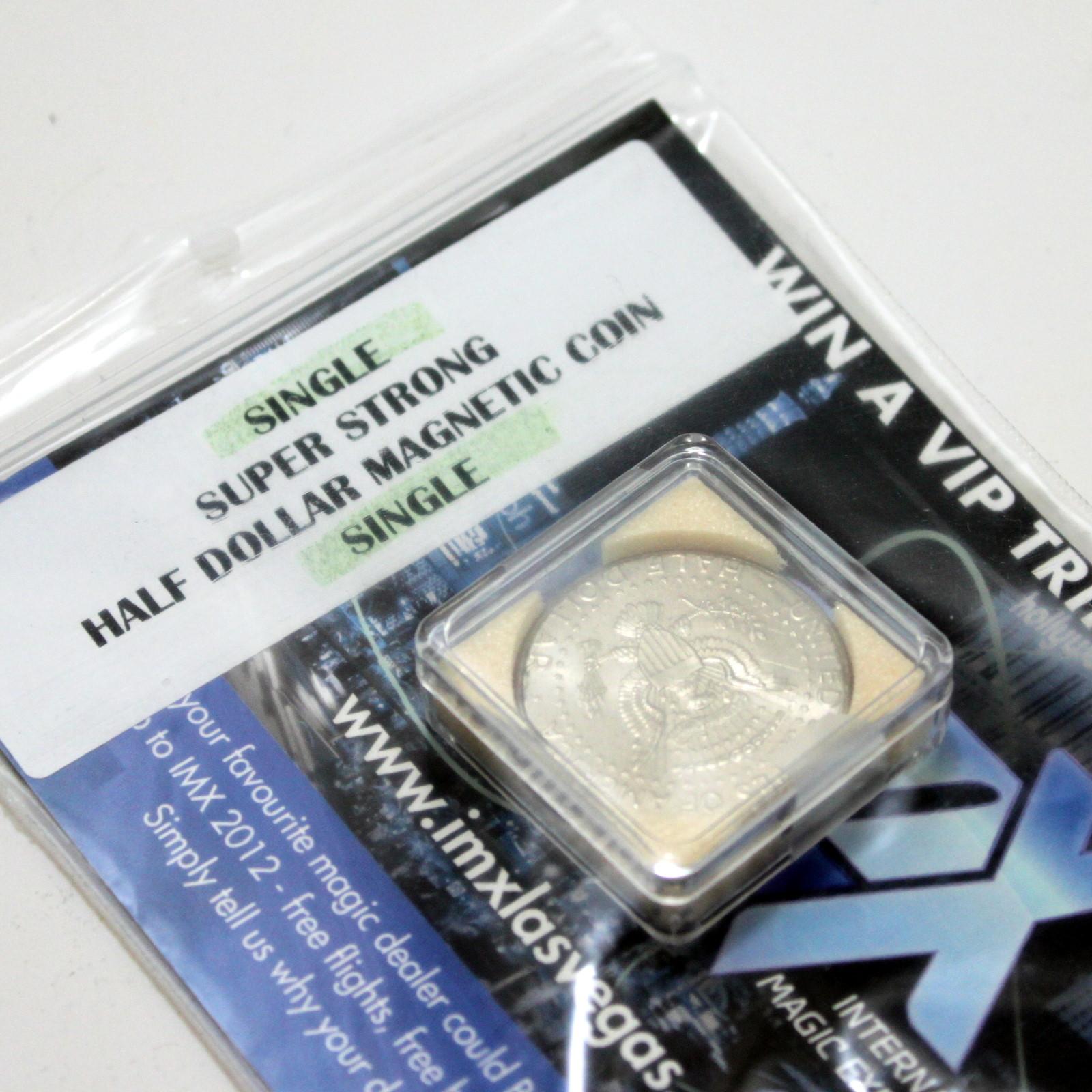 Super Strong Magnetic Half Dollar by Kreis Magic
