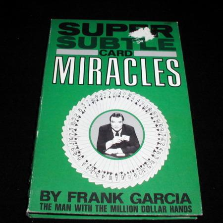 Super Subtle Card Miracles by Frank Garcia