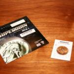 Supercoin (US Half Dollar) with V1 DVD by John Kennedy