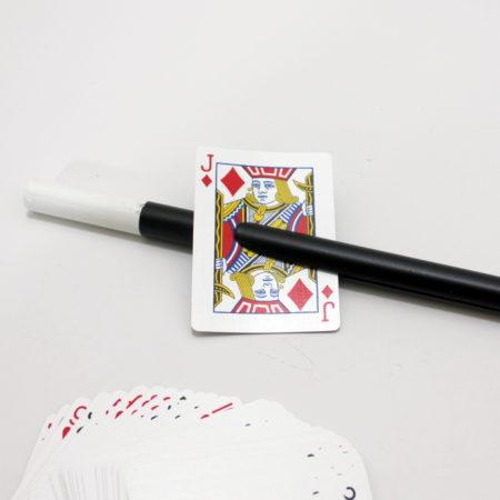Card on Wand by Supreme Magic  Company